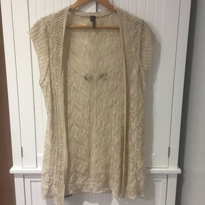 🌟4/$20 Maurice's crochet cardigan/cover up